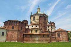San lorenzo church, milan Stock Photos
