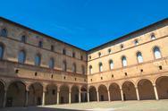 Stock Photo of castello sforzesco, milan