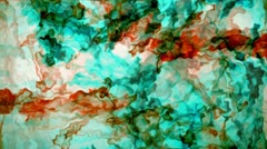 Colored liquid Stock Footage