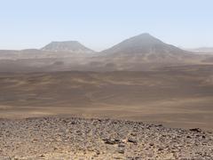 libyan desert - stock photo