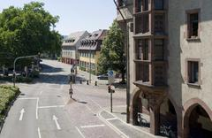City view of freiburg im breisgau Stock Photos