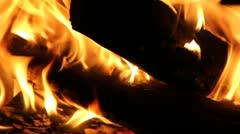 Wood stove Stock Footage