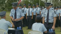 Queensland Police Graduation Ceromony (24) Stock Footage