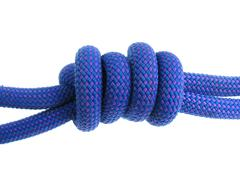 Double fisherman's knot Stock Photos