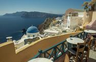 Stock Photo of santorini island