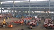 Stock Video Footage of People at work in metal industry