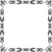 Gothic pattern Stock Illustration