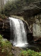 North Carolina waterfall Stock Photos