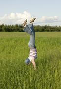 gymnastics - stock photo