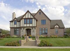 Idyllic Luxury Home - stock photo