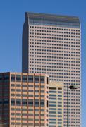 Cash Register Building in Denver Stock Photos
