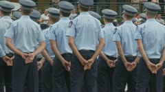 Queensland Police Graduation Ceromony (31) Stock Footage