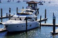 Boat park in Marina Stock Photos