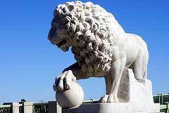 Bridge of Lions Saint Augustine - stock photo