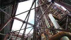 Factory buildings Stock Footage