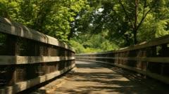 Bridge Dolly - stock footage