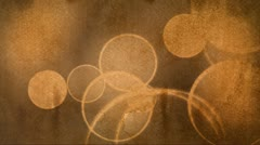 Paper texture and dots orange and browns floating Stock Footage
