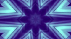 Kaleidoscope background blue and purple muted - stock footage