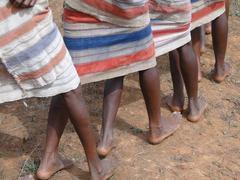 Yksityiskohta, jalat naiset tanssivat .. Kuvituskuvat