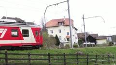 Swiss railways, Jura Stock Footage