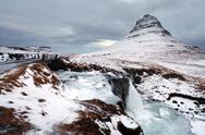 Grundarfjorour famous mountain iceland Stock Photos