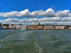 Helsinki, historical center - stock photo