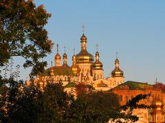Kiev-Pechersk Lavra in Kyiv, Ykraine - stock photo