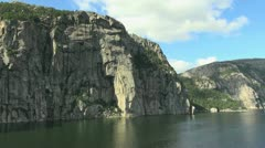 Norway Lysefjord timelapse s Stock Footage