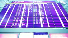 Airport Terminal in Hong Kong. Time Lapse - stock footage