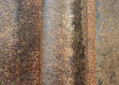 Rusty corrosion detail Stock Photos