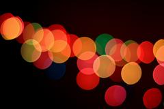 Abstract bokeh light Stock Photos