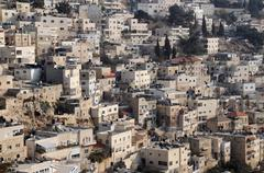 Stock Photo of silwan village