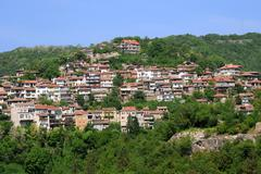 Veliko tarnovo in may Stock Photos