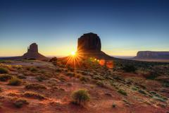 the monument valley tribal park - stock photo