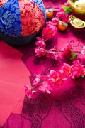 Stock Photo of chinese new year festival decorations