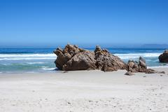 Stock Photo of beach along south africas coastline