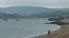 River Exe Estuary Stock Footage