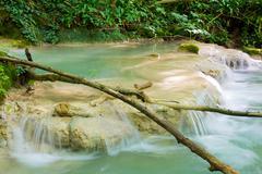 Stock Photo of blue stream 2