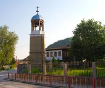 bulgarian belfry - stock photo