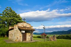 bulgarian chapel - stock photo