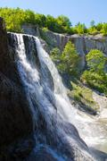hristovski waterfall 7 - stock photo