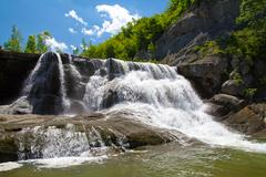 hristovski waterfall - stock photo