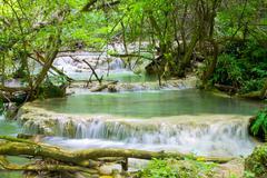 Stock Photo of krushuna waterfalls 11