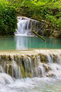 krushuna waterfalls 4 - stock photo
