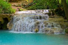 krushuna waterfalls 7 - stock photo