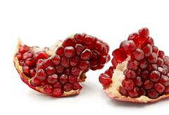 Tasty pomegranate fruit Stock Photos