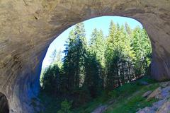 Stock Photo of big rock arch