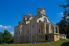New church in veliko tarnovo Stock Photos