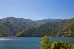 vacha reservoir 2 - stock photo