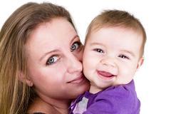 Mommy's angel Stock Photos